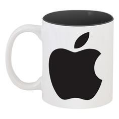 Кружка Printio цветная внутри Apple