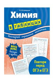 Химия в таблицах Издательство Эксмо