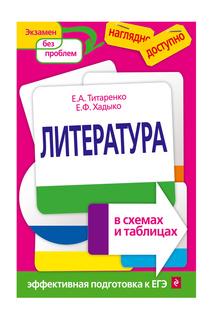 Литература в схемах и таблицах Издательство Эксмо