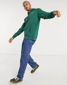 Худи зеленого цвета с логотипомVans-Зеленый