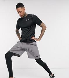 Черные леггинсы Nike Training Tall-Черный