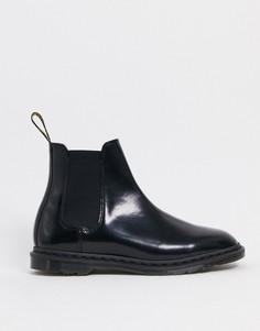 Черные ботинки челси Dr Martens-Черный