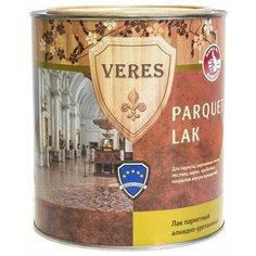 Лак VERES Parquet Lak полуматовый алкидно-уретановый бесцветный 0.75 л