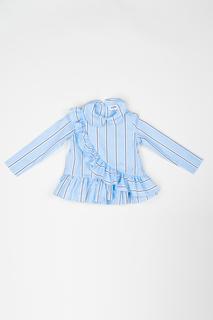Блузка Acoola 20220260021 цв.голубой р.104