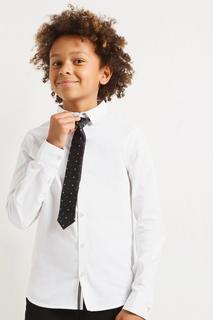 Рубашка Acoola 20140280054/ цв.белый р.128
