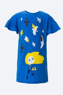 Платье Crockid КР 5586 цв.голубой р.104