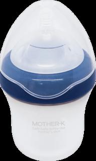 Силиконовая бутылочка Mother-K Blueberry 180мл.