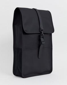 Большой рюкзак Rains-Черный