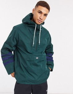 Зеленый анорак adidas Originals