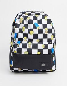 Рюкзак с шахматным узором Vans X The Simpsons Old Skool III-Мульти