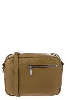 Маленькая кожаная сумка с тонким плечевым ремнем Sergio Belotti