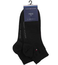 Комплект из двух пар черных носков Tommy Hilfiger