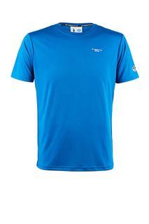 Синяя футболка с принтом на спине AC36 by Prada North Sails