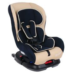 Удерживающее устройство для детей BAMBOLA, ISOFIX 0-18 кг, цв.синий; бежевый; коричневый