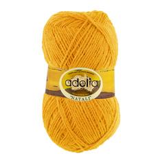 """Вязание Пряжа ADELIA """"NATALI"""" 10 шт, в упак, цвет ярко-желтый NATALI-03, 300 м от Adelia"""
