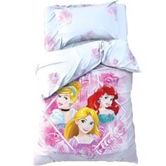 Постельное белье Disney Follow your heart Принцессы 1,5-спальное