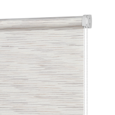 Рулонная штора Decofest Комо Бежево-коричневый 90x160
