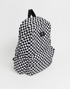 Рюкзак с шахматным узором Vans Old Skool II VN000ONIHU01-Черный