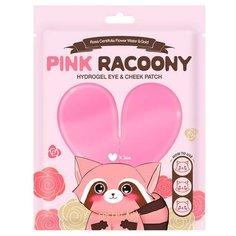 Secret Key Патчи для глаз гидрогелевые Pink Racoony Hydro-Gel Eye & Cheek Patch (3 шт.)