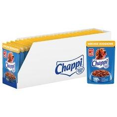 Влажный корм для собак Chappi Мясное изобилие 28шт. х 85г