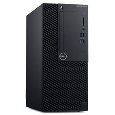Настольный компьютер DELL Optiplex 3070 MT (3070-4661) Mini-Tower/Intel Core i3-9100/8 ГБ/256 ГБ SSD/Intel UHD Graphics 630/Windows 10 Pro черный