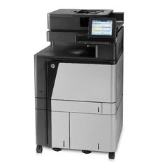 МФУ HP Color LaserJet Enterprise flow MFP M880z+ черный/белый