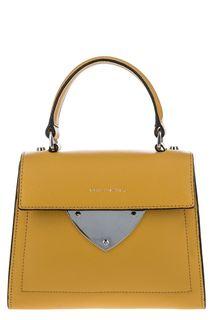 Маленькая сумка из мягкой кожи с откидным клапаном В14 Coccinelle
