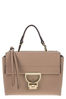 Маленькая сумка через плечо из мягкой кожи Arlettis Coccinelle