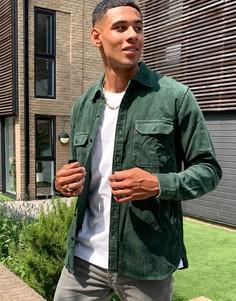 Зеленая вельветовая рубашка навыпуск Levis-Зеленый Levis®