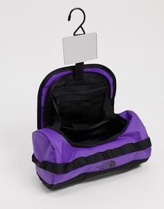 Маленький дорожный несессер фиолетового цвета The North Face Base Camp-Фиолетовый