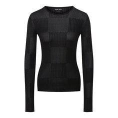 Шелковый пуловер Giorgio Armani