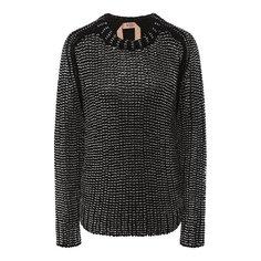Хлопковый пуловер N21