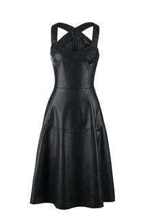 Платье-сарафан средней длины с расклешенной юбкой Love Republic