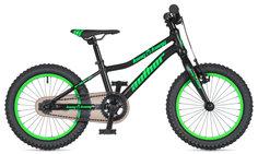 """Велосипед AUTHOR King Kong 16 9"""" (20) черный/зеленый"""
