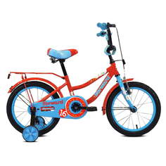 """Велосипед 16"""" Forward Funky 19-20 г Красный/Голубой/RBKW0LNG1034"""