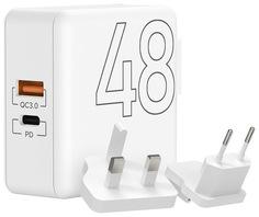 Сетевое зарядное устройство Lyambda LT48-WT White