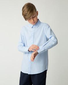 Голубая рубашка Gulliver, модель 220GSBC2325, р. 152
