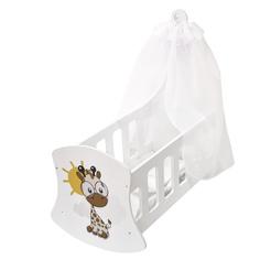 Люлька с балдахином серии Мимими, Крошка Лео PAREMO PFD120-125
