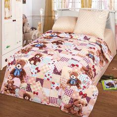 """Постельное белье """"Мой медвежонок арт. 112"""" 1,5-спальное 100 % Хлопок АРТПОСТЕЛЬка"""