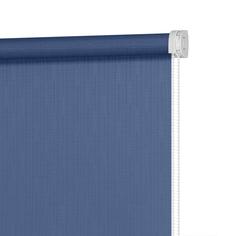 Рулонная штора Decofest Апилера Полуночный синий 120x160