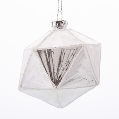 Елочная игрушка Подарки и сувениры геометрия 8х8 см