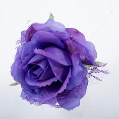 Декорация новогодняя Подарки и сувениры роза, 9 см