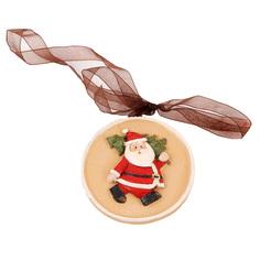 Елочная игрушка Подарки и сувениры Дед мороз 1 шт 6x6 см