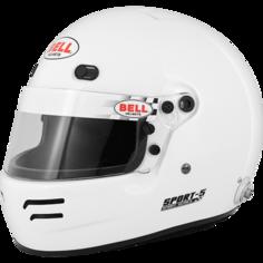 Шлем для автоспорта Bell 1418002 закрытый SPORT 5 FIA8859 белый р 58-59
