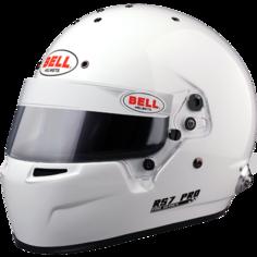 Шлем для автоспорта Bell 1310007 (23100105) закрытый RS7 PRO HANS FIA 8859 белый р 60