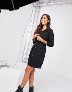 Черное джинсовое платье Levis-Черный Levis®