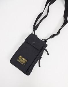 Черная сумка через плечо Element Recruit street-Черный