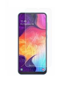 Стекло защитное Samsung Galaxy A70 / Самсунг А70 без рамки, сглаженные края, ASAHI GLASS Fine+
