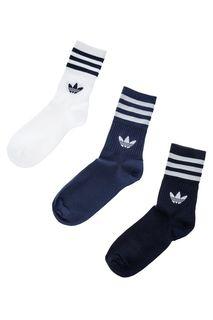 Набор носков мужских adidas Originals FM063 белых 39-42 DE