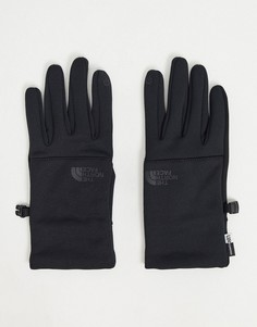 Черные перчатки The North Face Etip-Черный